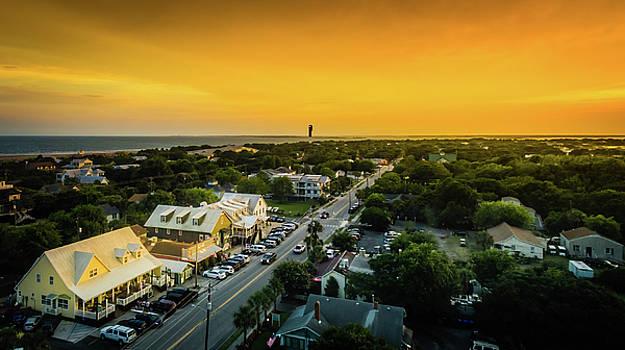 Sunset over Sullivan's Island by Matt Spangard