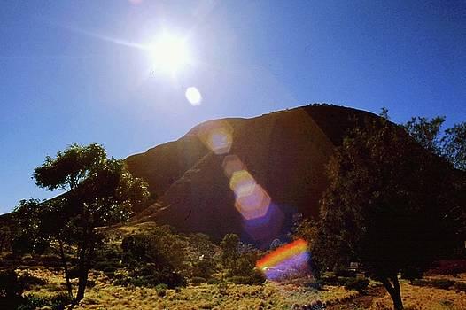 Gary Wonning - Sunset over the Olgas
