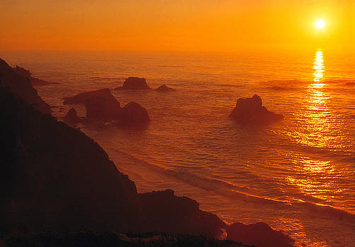 Utah Images - Sunset over the Pacific Ocean