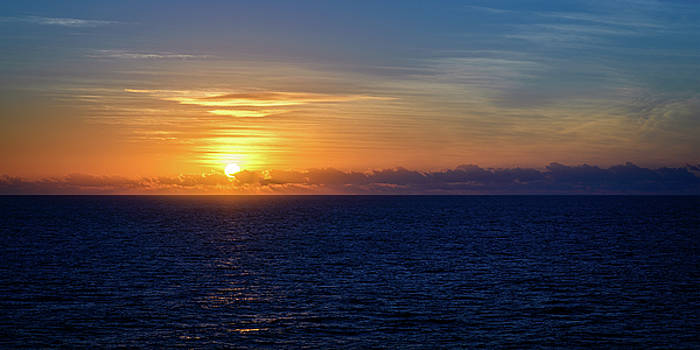 Sunset over the Timor Sea by Tony Steinberg