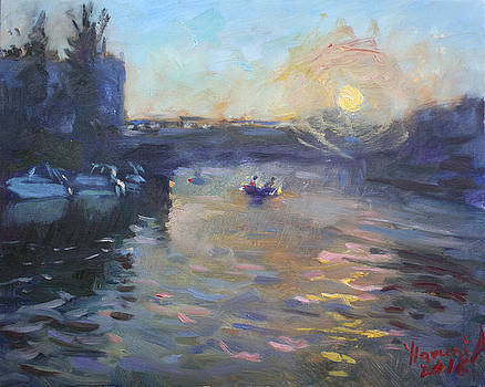 Ylli Haruni - Sunset over Tonawanda Canal