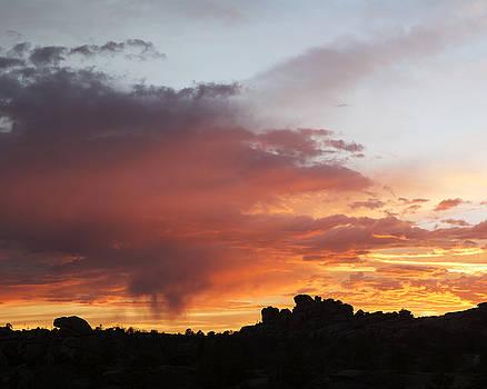 Sunset over Veadawoo 1/4 by D Scott Clark