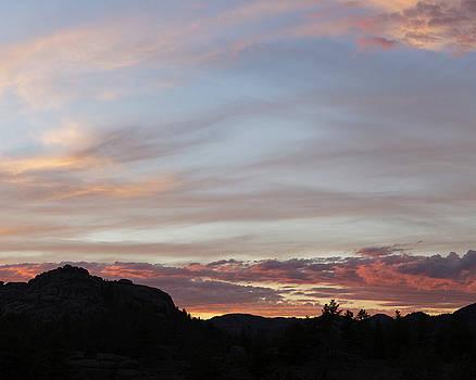 Sunset over Veadawoo 3/4 by D Scott Clark