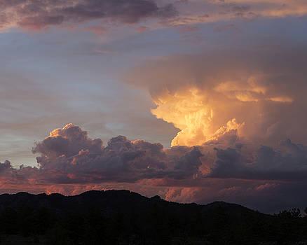 Sunset over Veadawoo 4/4 by D Scott Clark