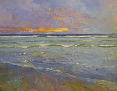 Sunset Pacific Beach by Jim Noel