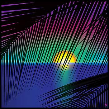 Sunset Palms by Gary Grayson