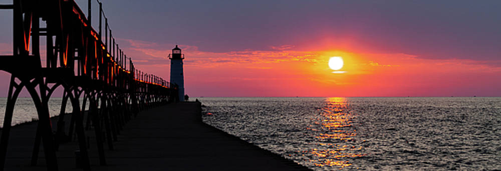 Sunset Panorama by Fran Riley