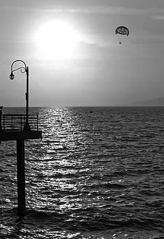 Sunset Parasailing by Maj Seda