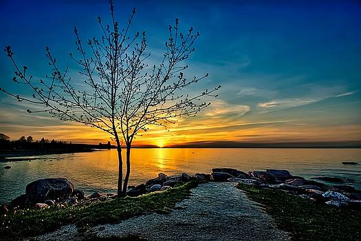 Sunset Point  by Jeff S PhotoArt