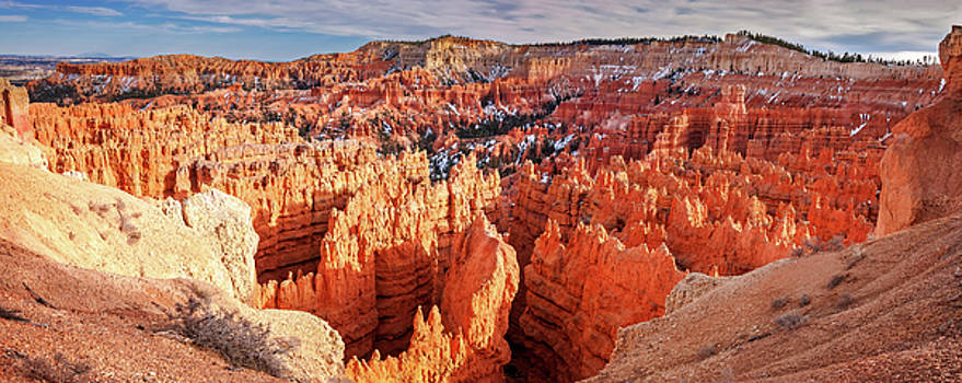 Sunset Point Panorama at Bryce Canyon National Park by Daniela Constantinescu