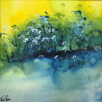 Sunset Pond I by Neva Rossi