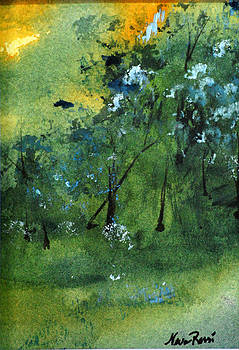 Sunset Pond II by Neva Rossi