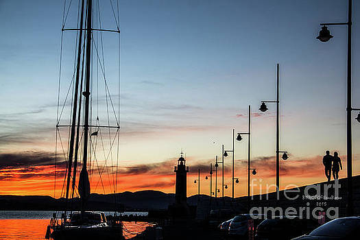 Sunset Port de Saint-Tropez by BIPHOTO Barna Ilona