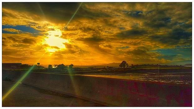 Sunset Psychadelia  by Philip Hennen