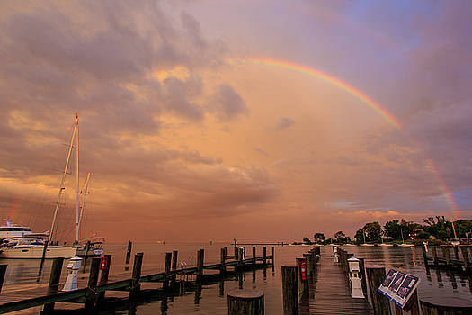 Sunset Rainbow by Jennifer Casey