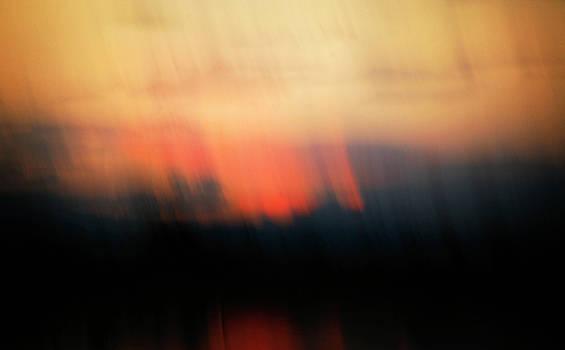 Sunset Raining Down by Marilyn Hunt