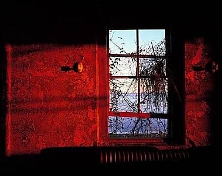 Sunset Recreation Room - Ellis Island by Stephen Wilkes