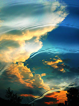 Sunset Reflection by Sheryl Bergman