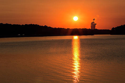 Sunset Reflection by Tammy Chesney