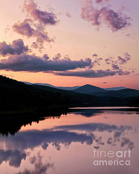 Sunset Reflections by Alan L Graham