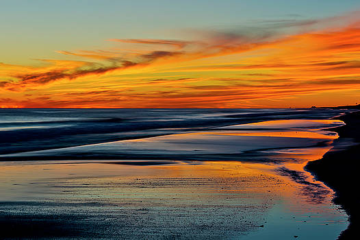 Sunset Reflections by Gej Jones
