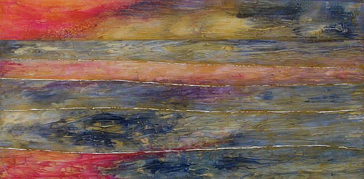 Sunset reflections by John Stuart Webbstock
