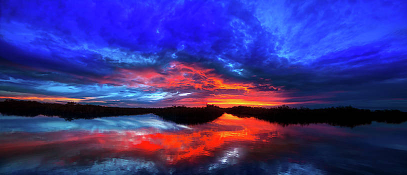 Sunset Reflections by Mark Andrew Thomas