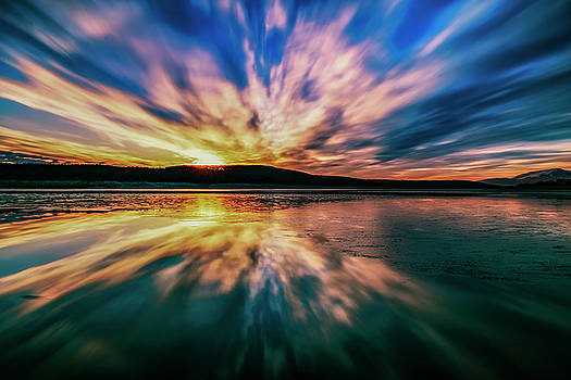 Sunset Reflections by Plamen Petkov