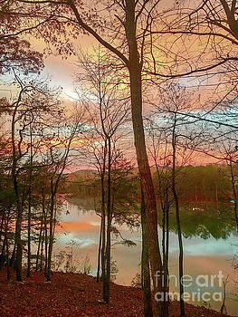 Sunset Reflections by Susan Leggett
