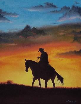 Sunset Rider by Brian Duey