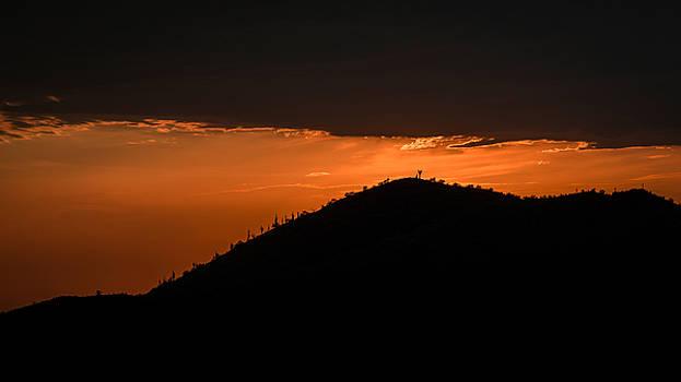 Sunset Ridge by Mark Spomer