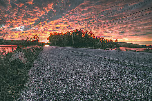 Sunset Road by David Pratt