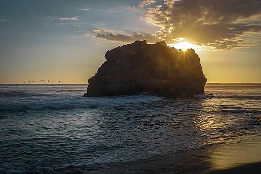 Sunset Rock by Paki O'Meara