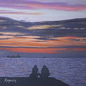 Sunset Romance by Harvey Rogosin