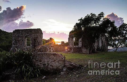 Sunset Ruins by Julia Rigler