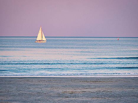 Steven Ralser - Sunset Sail - Ogunquit -Maine