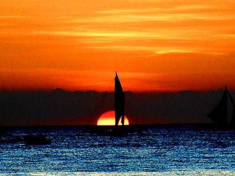 Sharmaigne Foja - Sunset Sail