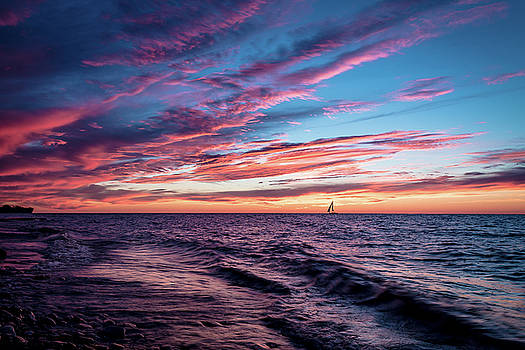 Sunset Sails by Johnathan Erickson
