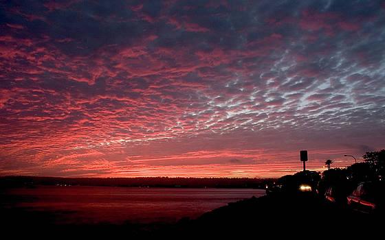 Sunset San Diego by Ni Zhu