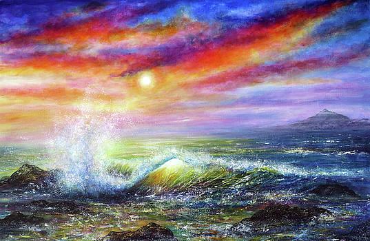 Sunset Sea by Ann Marie Bone