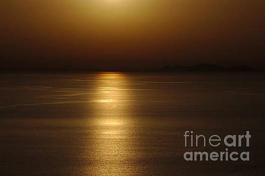 Sunset Sea by Jeremy Hayden