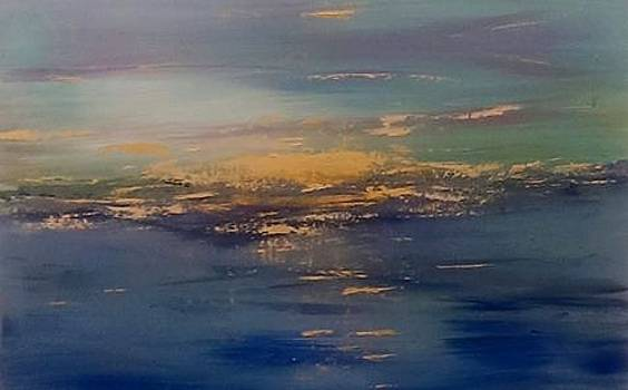 Sunset Seascape 2 by Judi Goodwin