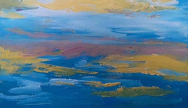 Sunset Seascape 4 by Judi Goodwin