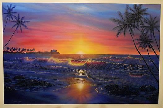 Sunset Seascape by Thomas Futyna