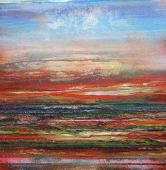 Sunset Series Northumberland Coast 2009 by Mike   Bell