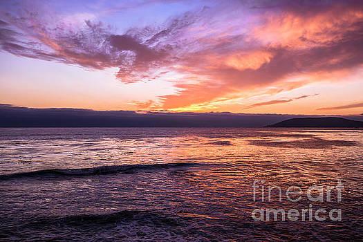 Sunset Shell Beach by Steven Natanson