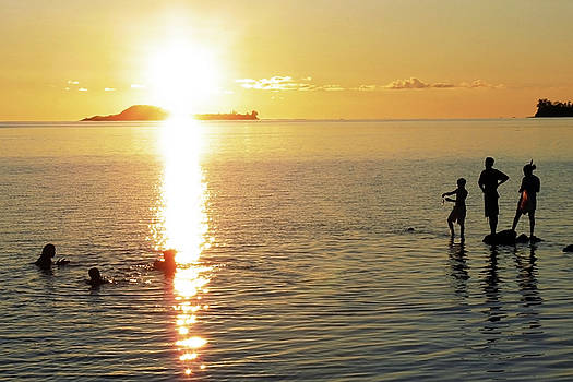 Sunset Silhouettes by Jonny Jelinek