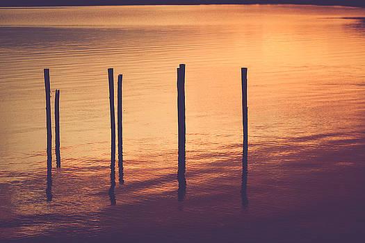 Sunset Silouette by Amber Dopita