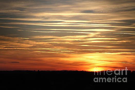 Sunset sky by Dimitar Hristov