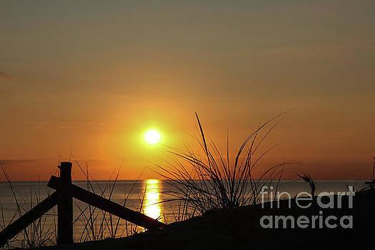 Sunset sky in Cape Cod by Miro Vrlik